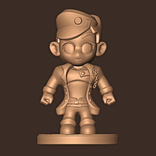 a.jpg Descargar archivo STL Jotaro Kujo chibi // Las extrañas aventuras de Jojo • Diseño para la impresora 3D, MatteoMoscatelli
