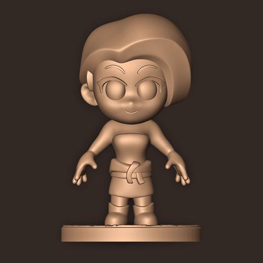 22.jpg Descargar archivo STL Jill Valentine chibi // Resident Evil 3 remake • Diseño para impresión en 3D, MatteoMoscatelli