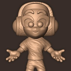 b.jpg Download OBJ file Pewdiepie • Model to 3D print, MatteoMoscatelli