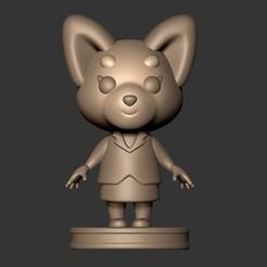 3D printer files aggretsuko chibi action figure ( netflix cartoon ), MatteoMoscatelli