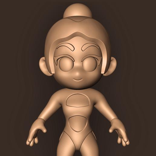 b.jpg Descargar archivo STL DUA LIPA // CHIBI ( Mtv Ema 2019 ) • Diseño para impresión en 3D, MatteoMoscatelli