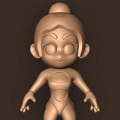 b.jpg Télécharger fichier STL DUA LIPA // CHIBI ( Mtv Ema 2019 ) • Design pour impression 3D, MatteoMoscatelli