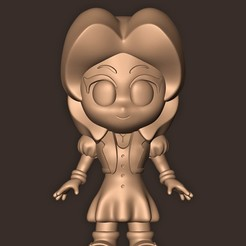 a.jpg Download OBJ file Aerith Gainsborough Chibi // Final Fantasy 7 • 3D printing object, MatteoMoscatelli
