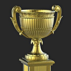 STL file cup trophy CLASSIC ARCHITECTURE decorative , MatteoMoscatelli