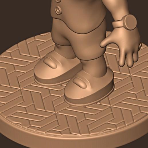 c.jpg Descargar archivo STL Bruno Mars chibi • Plan para la impresión en 3D, MatteoMoscatelli