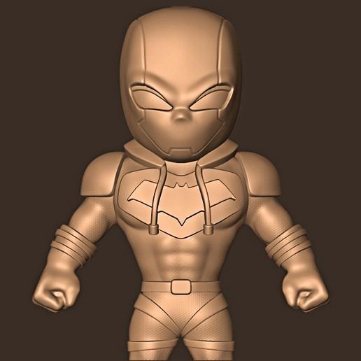 bb.jpg Descargar archivo STL Redhood chibi / Gotham Knight • Plan para la impresión en 3D, MatteoMoscatelli