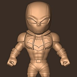 bb.jpg Download STL file Redhood chibi / Gotham Knight  • 3D printable design, MatteoMoscatelli