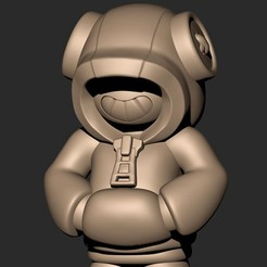 4.jpg Download OBJ file Leon // Brawl Stars ( Legendary Character ) • 3D printable object, MatteoMoscatelli