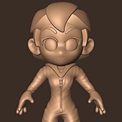 Descargar modelos 3D para imprimir Tokyo Chibi // Casa de Papel 4, MatteoMoscatelli
