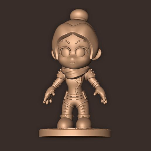 c.jpg Descargar archivo STL Espectro Chibi // Leyendas de la cúspide • Modelo imprimible en 3D, MatteoMoscatelli