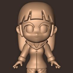 a.jpg Descargar archivo OBJ HINATA Hyuga Chibi • Modelo imprimible en 3D, MatteoMoscatelli