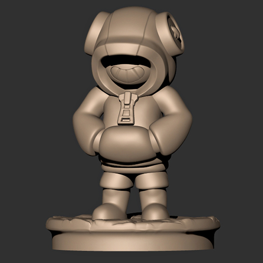 5.jpg Descargar archivo OBJ Leon // Brawl Stars ( Personaje legendario ) • Modelo para imprimir en 3D, MatteoMoscatelli