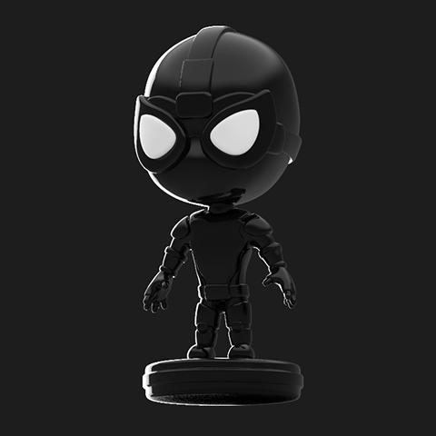 Spider-Man Stealth Suit Pop 10cm Spider-Man Far From Home