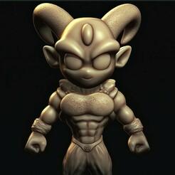 a.jpg Télécharger fichier STL Moro ( Dragon Ball Super ) • Modèle à imprimer en 3D, MatteoMoscatelli