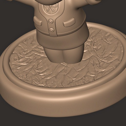 b.jpg Descargar archivo OBJ Isabelle // Animal Crossing New Horizons • Objeto para imprimir en 3D, MatteoMoscatelli