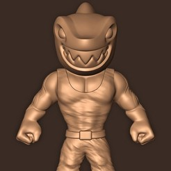 a.jpg Download STL file King Shark ( SUICIDE SQUAD: KILL THE JUSTICE LEAGUE ) • 3D print model, MatteoMoscatelli