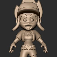 Descargar modelos 3D Akali KDA League of Legends FAN ART Chibi lol, MatteoMoscatelli