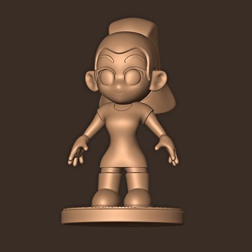 b.jpg Descargar archivo STL Ariana Grande chibi • Objeto para impresión 3D, MatteoMoscatelli