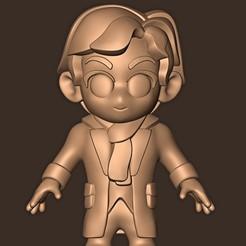 Descargar modelos 3D para imprimir Sherlock Holmes Chibi, MatteoMoscatelli