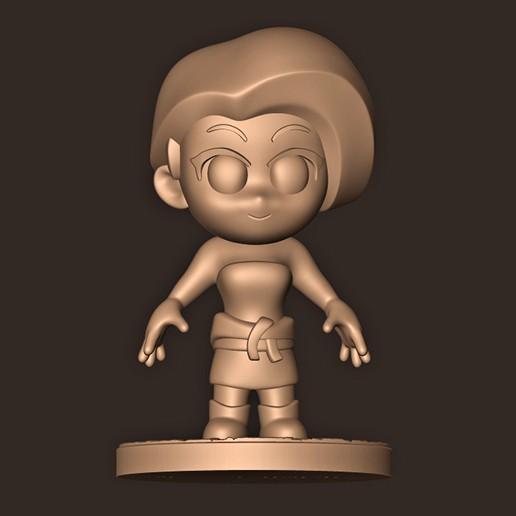 44.jpg Descargar archivo STL Jill Valentine chibi // Resident Evil 3 remake • Diseño para impresión en 3D, MatteoMoscatelli