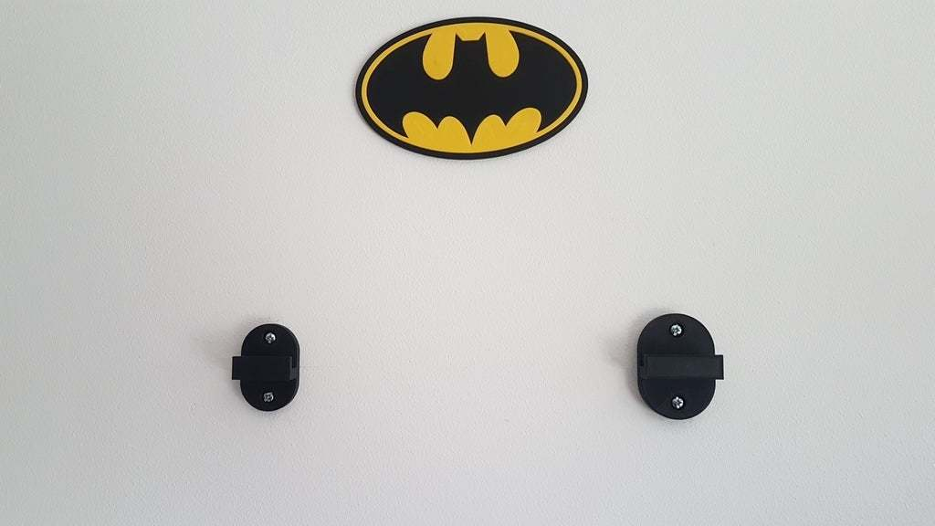20200308_153943.jpg Download free SCAD file Lego Batmobile wall mount • 3D printable template, yvrogne59