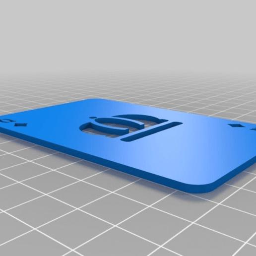 a61bfbe4cdd1a9823ed2628f7e789830.png Télécharger fichier SCAD gratuit Les cartes à jouer • Objet imprimable en 3D, yvrogne59
