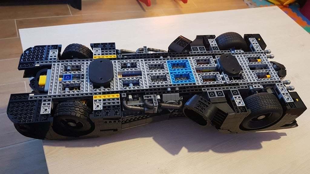20200105_214905.jpg Download free SCAD file Lego Batmobile wall mount • 3D printable template, yvrogne59