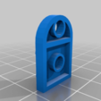 Download free 3D printer designs Lego 3176 : 3 x 2 Plate with Hole, yvrogne59