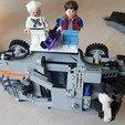 Download free STL file Lego DeLorean Wall Mount • 3D printer object, yvrogne59