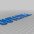outatime_copy_letters_75.png Download free STL file Back to the Future License Plate OUTATIME (75% from original) • 3D print model, yvrogne59