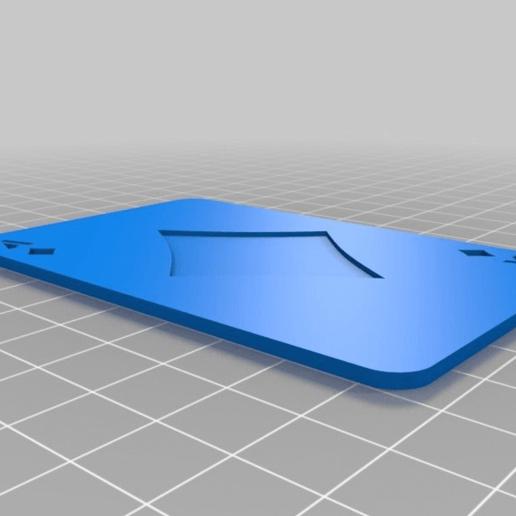e4aa191c0dd139e4b538e20bbed2fa4a.png Télécharger fichier SCAD gratuit Les cartes à jouer • Objet imprimable en 3D, yvrogne59