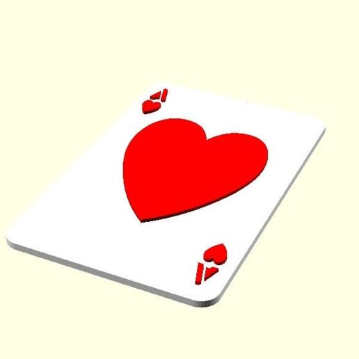preview.png Télécharger fichier SCAD gratuit Les cartes à jouer • Objet imprimable en 3D, yvrogne59