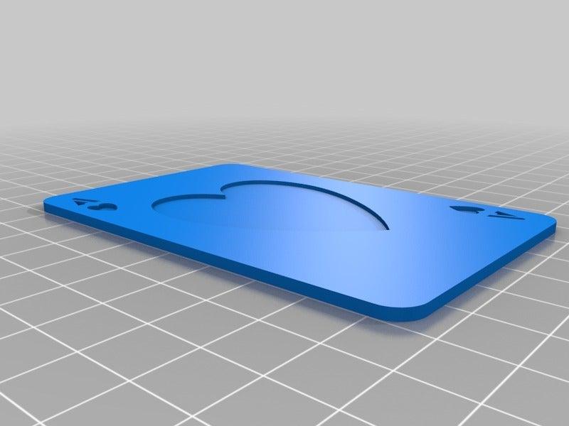 1adbb0d4922800a45883fdbc30477e80.png Télécharger fichier SCAD gratuit Les cartes à jouer • Objet imprimable en 3D, yvrogne59