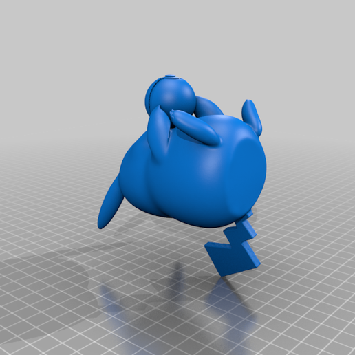 pikachuball.png Download free STL file Pikachu with a pokeball • 3D printable design, laqdime93