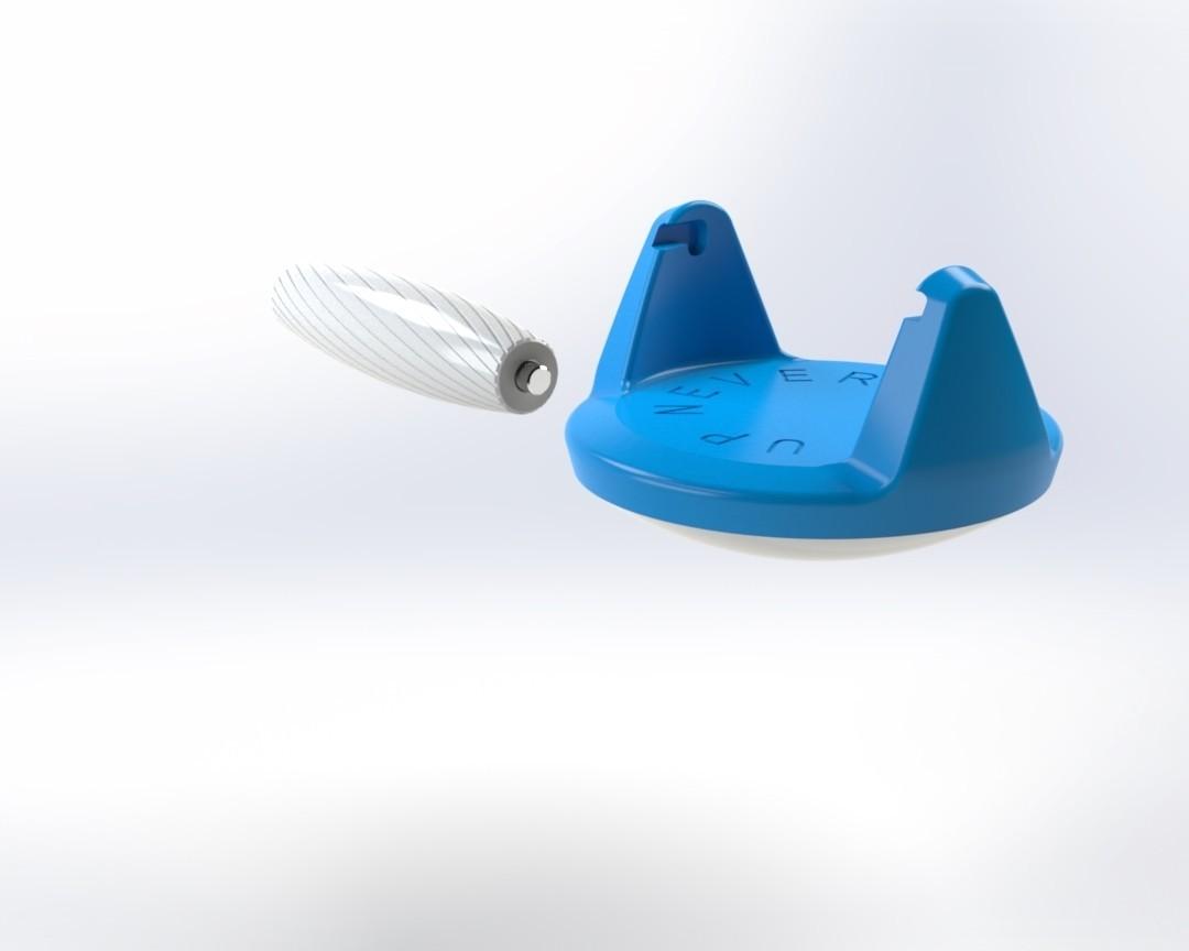 Push up handle 8.jpg Télécharger fichier STL gratuit Poignée pour pompe (Push up bar) • Modèle pour impression 3D, Mathieu_BZH