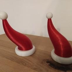 IMG_20201128_172148.jpg Download STL file Christmas hat / Bonnet de Noël • Model to 3D print, Mathieu_BZH