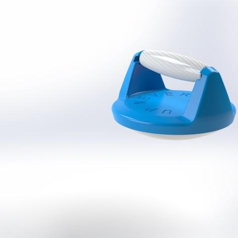 Push up handle 9.jpg Télécharger fichier STL gratuit Poignée pour pompe (Push up bar) • Modèle pour impression 3D, Mathieu_BZH