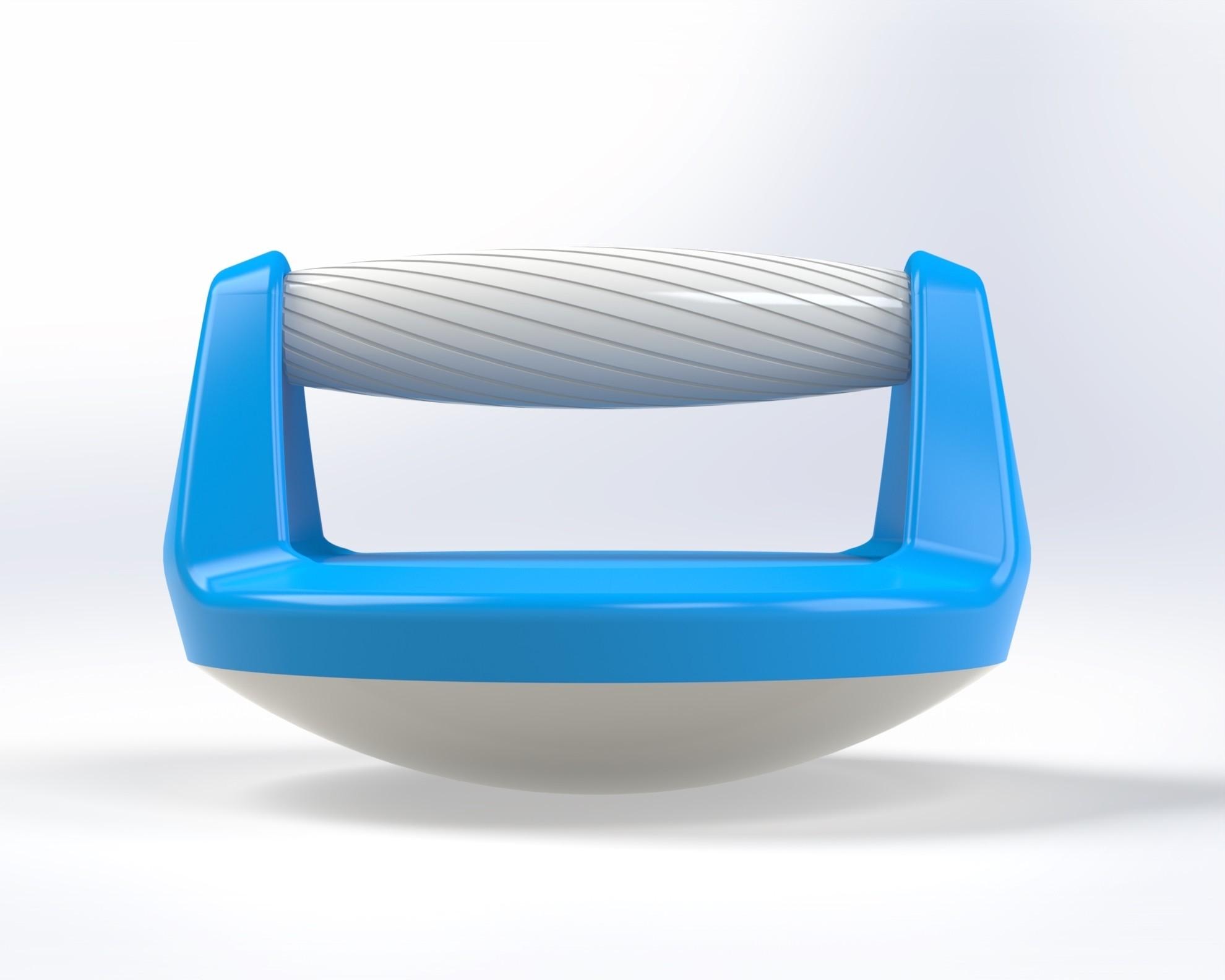 Push up handle 0.jpg Télécharger fichier STL gratuit Poignée pour pompe (Push up bar) • Modèle pour impression 3D, Mathieu_BZH