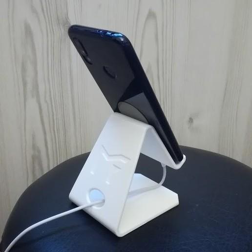 IMG_20190923_193634.jpg Télécharger fichier STL gratuit Support universel pour téléphone _ Samsung galaxy / Xiaomi Redmi • Objet pour impression 3D, Mathieu_BZH