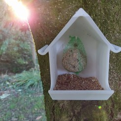 IMG_20191201_164220.jpg Download free STL file Birdhouse feeder • Model to 3D print, Mathieu_BZH