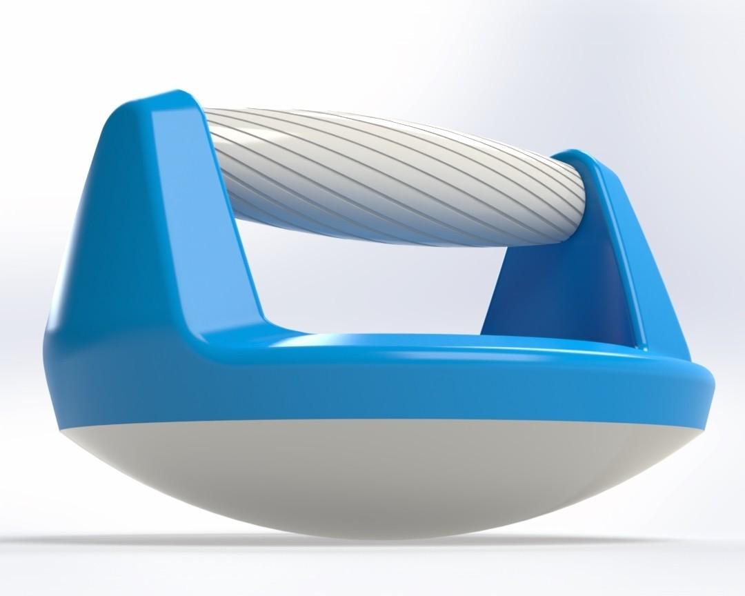 Push up handle 4.jpg Télécharger fichier STL gratuit Poignée pour pompe (Push up bar) • Modèle pour impression 3D, Mathieu_BZH