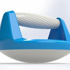 Free 3D model Handle for pump (Push up bar), Mathieu_BZH