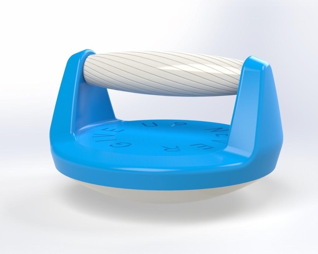 Push up handle 1.jpg Télécharger fichier STL gratuit Poignée pour pompe (Push up bar) • Modèle pour impression 3D, Mathieu_BZH