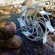 Download free 3D printer model Waterwheel _ Moulin à eau Ø190mm, Mathieu_BZH