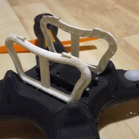 Descargar modelo 3D gratis Pie reforzado con Drone - Zoopa Q 420 Cruiser, Mathieu_BZH