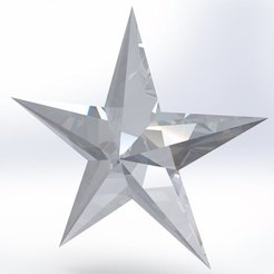 Free 3D printer model Star, Mathieu_BZH