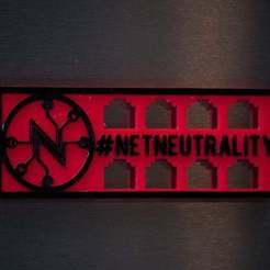 Download free STL file Net Neutrality Awareness Magnet (1 of 3) • 3D print object, Glenn37216