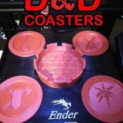 Télécharger fichier imprimante 3D gratuit Sous-verre D&D, Glenn37216