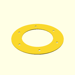 flange × 60 — female (3D).png Download free STL file 58mm solar filter for DSLR • 3D printing model, madhead