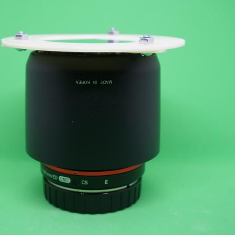 Download free 3D model 58mm solar filter for DSLR, madhead
